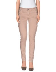 Scee By Twin Set Trousers Casual Trousers Women Khaki