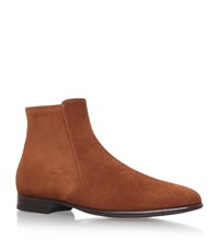 Tom Ford Gloucester Suede Boot Male Tan