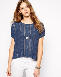Denim And Supply Ralph Lauren Denim And Supply Cable Knit Jumper