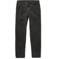 Cav Empt Cotton Corduroy Trousers Anthracite