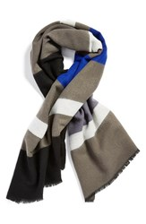 Junior Women's Capelli Of New York Stripe Blanket Scarf