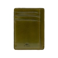 Il Bussetto Card Holder Green