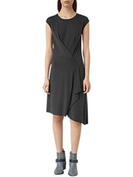Allsaints Breeze Devo Dress Coal Black