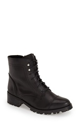 Andre Assous Andre Assous 'Benny' Moto Boot Women Black Leather