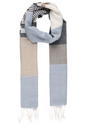 Marc O'polo Scarf Faded Denim Blue