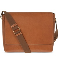 Mulberry Maxwell Classic Grain Leather Messenger Oak