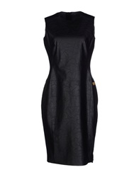 We Are Replay Knee Length Dresses Black