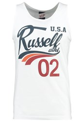 Russell Athletic Vest White