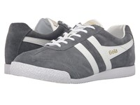 Gola Harrier Graphite White Men's Shoes Black