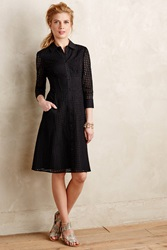 Maeve Augustine Shirtdress Black