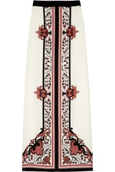 Alice By Temperley Nijinsky Printed Silk Maxi Skirt