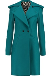 Just Cavalli Wool Blend Coat Blue
