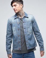 Nudie Jeans Co Ronny Denim Jacket Indigo Dungaree Blue