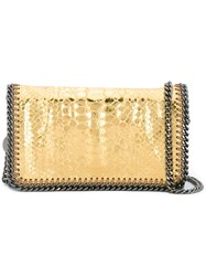 Stella Mccartney 'Falabella' Crossbody Bag Metallic