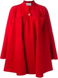 Gianfranco Ferre Vintage Oversized Coat Red