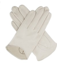 Dents Frances Hairsheep Leather Gloves Parchment