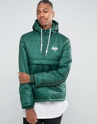 Hype Padded Overhead Jacket Green