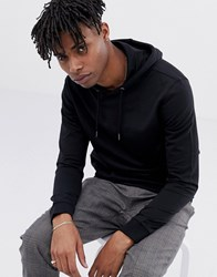 Only And Sons Basic Hoodie Black