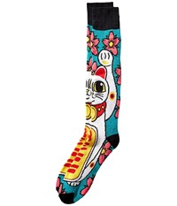 Neff Maneki Snow Sock Multi Men's Knee High Socks Shoes
