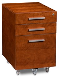 Bdi Sequel 6007 File Pedestal Natural Stained Cherry Brown