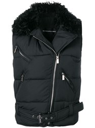 Barbara Bui Zip Up Gilet Black