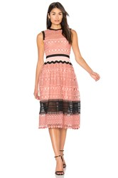 Three Floor Tea Rose Dress Pink