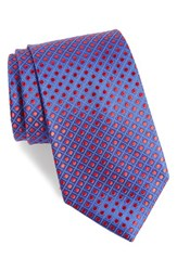 Nordstrom Men's Men's Shop Boardwalk Dot Silk Tie Red Royal