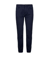 Aquascutum London Saltsfleet Cotton Twill Jeans Navy