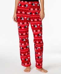 Briefly Stated Minnie Mouse Plush Pajama Pants