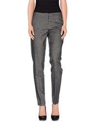 Trussardi Jeans Trousers Casual Trousers Women Grey