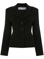 Gloria Coelho Sigle Breasted Blazer Black