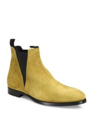 Acne Studios Zack Slip On Ankle Boots Beige