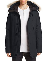 Canada Goose Chateau Parka With Fur Hood Navy