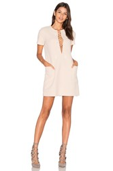 Kendall Kylie Safari Dress Beige