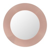 Kartell All Saints Round Mirror Nude Pink