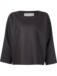 Toogood 'The Potter' Boxy Knit Top Grey