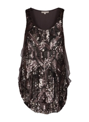 Silk Top With Sequins Clothing
