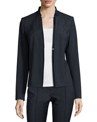 Elie Tahari Ava Plaid Suiting Jacket