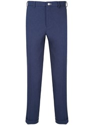 Loveless Cropped Chinos Blue