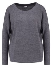 Jdyelma Jumper Dark Grey Melange Mottled Dark Grey