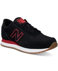 New Balance Men's 501 Core Ripple Casual Sneakers From Finish Line Black Crimson