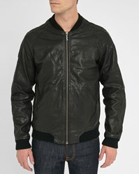 Nudie Jeans Brook Zipped Leather Jacket