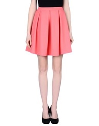 French Connection Knee Length Skirts Pink