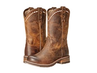 Ariat Unbridled Roper Distressed Brown Cowboy Boots