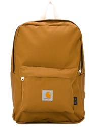 Carhartt Zip Up 'Watch' Backpack Nude And Neutrals