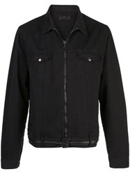 Rta 111 Belted Jacket Black