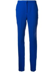 Mary Katrantzou Slim Fit Trousers Blue