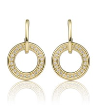 Boodles Classic Roulette Earrings Gold