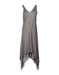 Aimo Richly Knee Length Dresses Grey