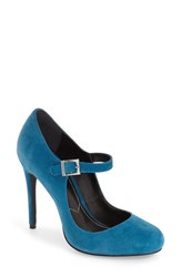 Charles By Charles David Women's 'Lava' Mary Jane Pump Dark Teal Suede